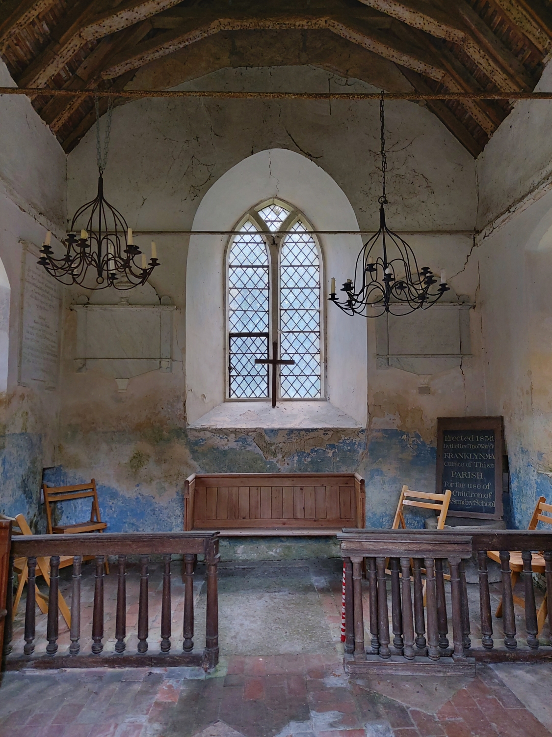 photo of the Greatham Old Church inside